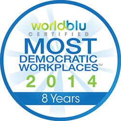 WorldBlu Democratic Workplace Award